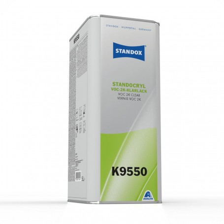 STANDOX BARNIZ VOC 2K K9550 5 litros